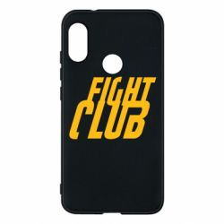 Чехол для Mi A2 Lite Fight Club - FatLine