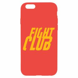 Чехол для iPhone 6/6S Fight Club - FatLine