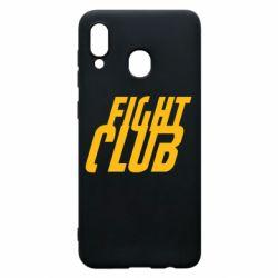Чохол для Samsung A30 Fight Club