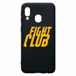 Чохол для Samsung A40 Fight Club
