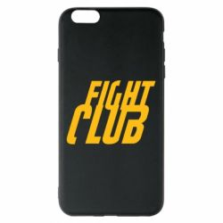 Чехол для iPhone 6 Plus/6S Plus Fight Club - FatLine