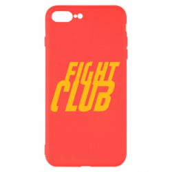 Чехол для iPhone 7 Plus Fight Club - FatLine