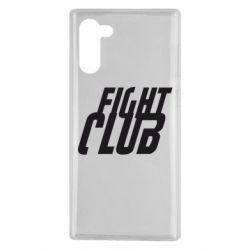 Чохол для Samsung Note 10 Fight Club