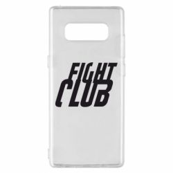 Чехол для Samsung Note 8 Fight Club - FatLine