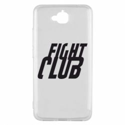 Чехол для Huawei Y6 Pro Fight Club - FatLine