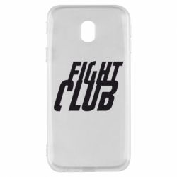 Чехол для Samsung J3 2017 Fight Club - FatLine