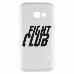 Чехол для Samsung A3 2017 Fight Club - FatLine