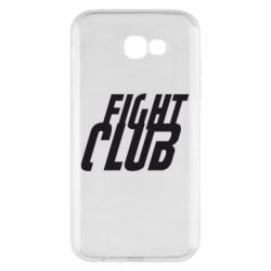 Чехол для Samsung A7 2017 Fight Club - FatLine