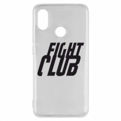 Чехол для Xiaomi Mi8 Fight Club - FatLine
