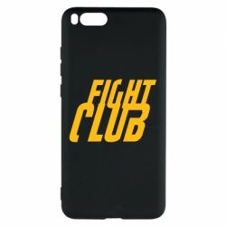 Чехол для Xiaomi Mi Note 3 Fight Club - FatLine
