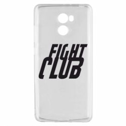 Чехол для Xiaomi Redmi 4 Fight Club - FatLine