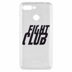 Чехол для Xiaomi Redmi 6 Fight Club - FatLine