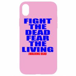 Чохол для iPhone XR Fight the dead fear the living