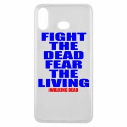 Чохол для Samsung A6s Fight the dead fear the living