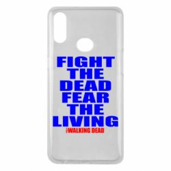 Чохол для Samsung A10s Fight the dead fear the living