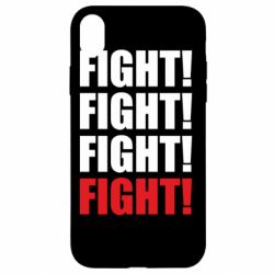 Чехол для iPhone XR Fight!