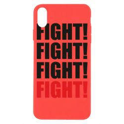 Чехол для iPhone X/Xs Fight!
