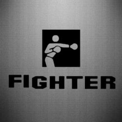 Наклейка Fighter - FatLine
