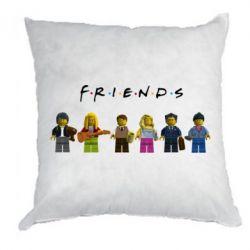 Подушка Фигурки Друзья