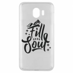 Чохол для Samsung J4 Fill your soul and mountains
