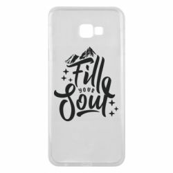 Чохол для Samsung J4 Plus 2018 Fill your soul and mountains