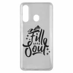 Чохол для Samsung M40 Fill your soul and mountains