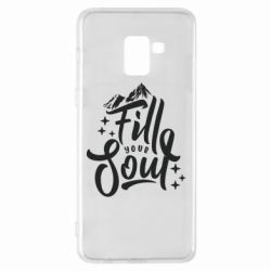 Чохол для Samsung A8+ 2018 Fill your soul and mountains