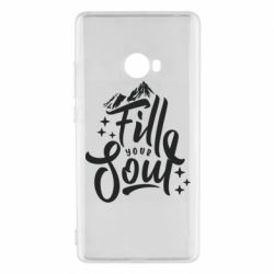 Чехол для Xiaomi Mi Note 2 Fill your soul and mountains