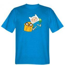 Мужская футболка Фин и Джейк - FatLine