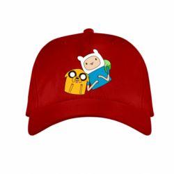 Детская кепка Фин и Джейк - FatLine