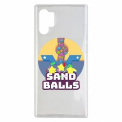 Чехол для Samsung Note 10 Plus Finish Sand balls