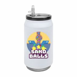 Термобанка 350ml Finish Sand balls