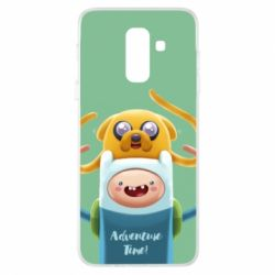 Чехол для Samsung A6+ 2018 Finn and Jake Art - FatLine