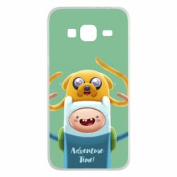 Чехол для Samsung J3 2016 Finn and Jake Art - FatLine