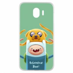 Чехол для Samsung J4 Finn and Jake Art - FatLine