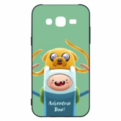 Чехол для Samsung J5 2015 Finn and Jake Art - FatLine