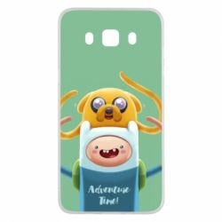 Чехол для Samsung J5 2016 Finn and Jake Art - FatLine