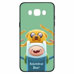 Чехол для Samsung J7 2016 Finn and Jake Art - FatLine
