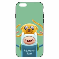 Чехол для iPhone 6/6S Finn and Jake Art - FatLine