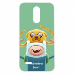Чехол для LG K7 2017 Finn and Jake Art - FatLine