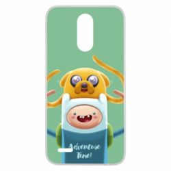 Чехол для LG K10 2017 Finn and Jake Art - FatLine
