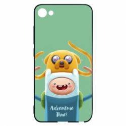 Чехол для Meizu U10 Finn and Jake Art - FatLine