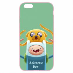 Чехол для iPhone 6 Plus/6S Plus Finn and Jake Art - FatLine