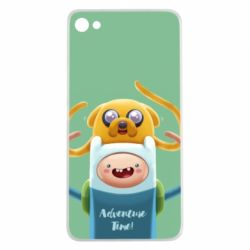 Чехол для Meizu U20 Finn and Jake Art - FatLine