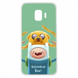 Чехол для Samsung J2 Core Finn and Jake Art - FatLine