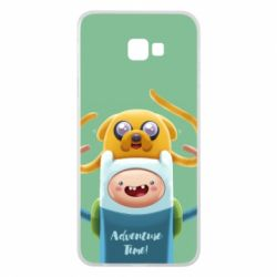 Чехол для Samsung J4 Plus 2018 Finn and Jake Art - FatLine