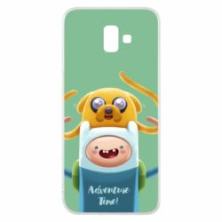 Чехол для Samsung J6 Plus 2018 Finn and Jake Art - FatLine