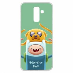 Чехол для Samsung J8 2018 Finn and Jake Art - FatLine