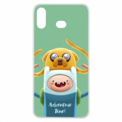 Чехол для Samsung A6s Finn and Jake Art - FatLine