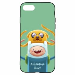 Чехол для iPhone 7 Finn and Jake Art - FatLine